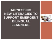 Harnessing New Literacies Poweproint