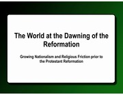 PreReformation World-email