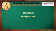 L10. Hedge funds