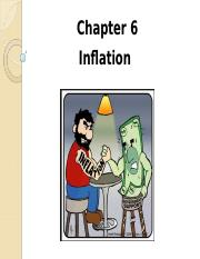 Topic 6 Inflation