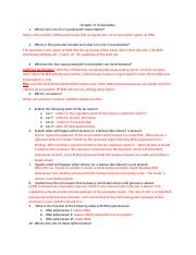Chapter 11 Transcription worksheet answers