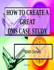 DMS_133_2010_Case_Study_Instructions.ppt