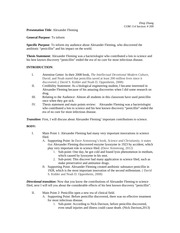 COM 114- Outline template