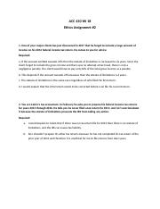 Ethics assignment #2 - ACC 430 WI 18(1).docx