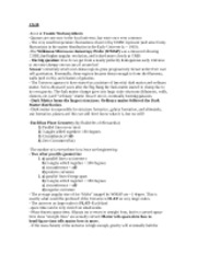 Ch. 10 Astronomy Study Guide