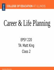 Class 2a_3.15.17_Career and Life Planning.pptx