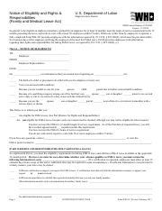 WH-382 FMLA Form.pdf - Designation Notice(Family and Medical Leave ...