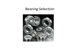 005 Bearing Selection_rev1