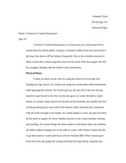 Amanda Cloud- Psychology 212 Research Paper