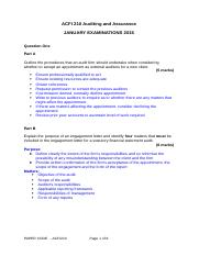 ACFI210 exam paper 2014 moderated solutions (1)