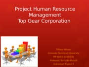 Project Human Resource Management IP3
