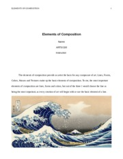 ARTS100_Elements of Composition_StudyExample