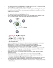 The Valence Shell Electron Pair Repulsion