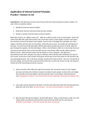 Practice Key-Application of Internal Control Principles (1).docx