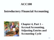 ACC100 Porter Chapter 4 - Part 1 -Student Copy - Sept 9th, 2013(1)