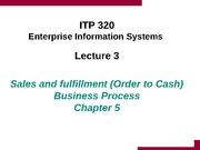 Lecture 3 - Sales