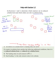 Assignment 1.2 Solutions on Linear Algebra Spring 2015