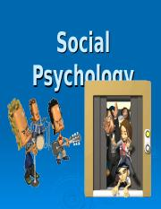 00 Social Psychology Intro