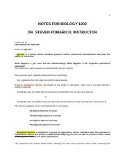 Chapter 24 notes BIOL1202.docx