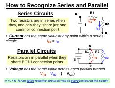 How to Recognize Series and Parallel.pdf