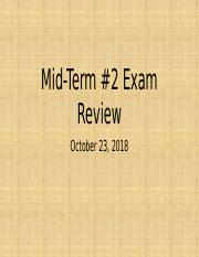 M20010 Midterm 2 Review_SV_F18.pptx