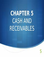 Financial Accounting 1 - Chapter 5