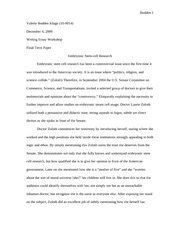 Embryonic_Stem_Cell(final essay)
