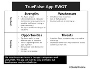 Lab 8: SWOT and Porter's Model