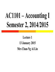 Lecture 1 AC1101 S2 1415 (students)