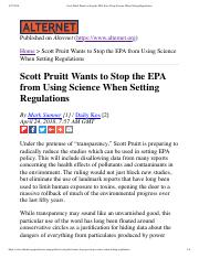 Scott Pruitt Wants to Stop the EPA from Using Science When Setting Regulations.pdf