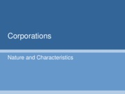 Lecture_Three_-_Corporations_Nature_and_Characteristics