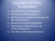 Powerpoint 16-Thermoregulation