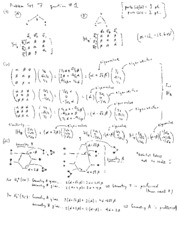CHEM 216 Problem Set 7 Solutions (Spring 2008)