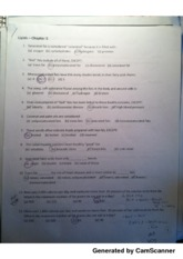 Chapter 5 Lipids Worksheet
