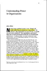 4 - Pfeffer, J. (1992) - Understanding power in organizations (22p)