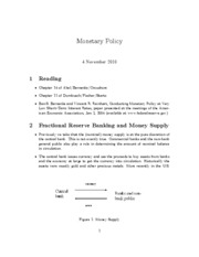 12. monetary policy