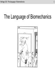 L2 The language of biomechanics (after)