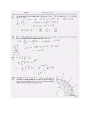 Exam B Solutions on Calculus Page 3