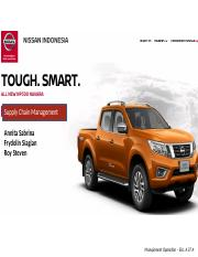OM- Nissan - Supply Chain Management