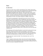"snow by julia alvarez Annotation exercise: excerpt of ""snow"" by julia alvarez for this exercise, highlight details that convey a sense of potential danger in the second paragraph of ""snow."