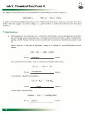Chemical Reactions 2 Pre-lab Brittney Henson.pdf