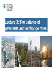 Lecture week 3 The balance of payments and exchange rates.pptx