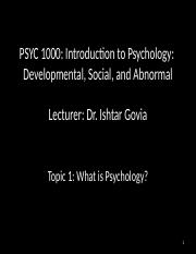 PSYC_1000_Topic_1_What_is_psychology