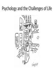 1. Psychology and the Challenges of Life.pptx