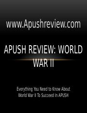 APUSH-Review-World-War-II