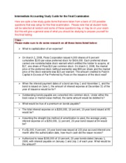 Intermediate Accounting Study Guide for Final Examination-1