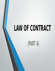 Law of Contract - Part 4.pptx