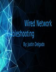 Wired Network Troubleshooting