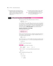 Differential Equations of Second Order