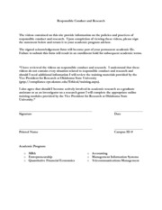 Compliance Form 2012